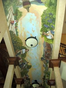 Mural-Farmers-harvesting-a-vineyard